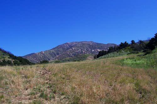 Looking toward Camino Cielo Ridge