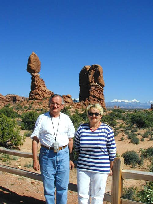 In Arches National Park