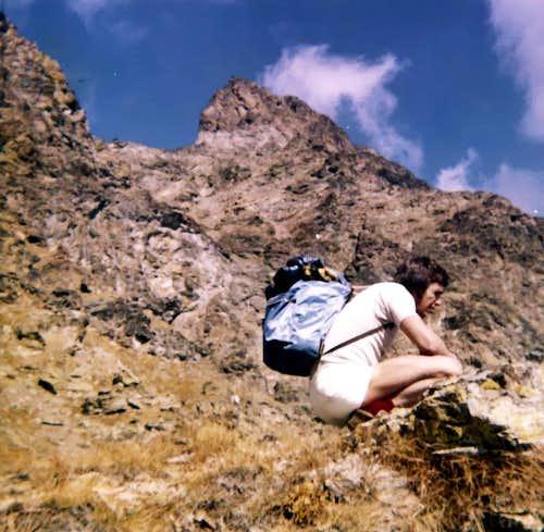 Climbing to Senevé' s Point & West Tsaat a l' Ets 1972