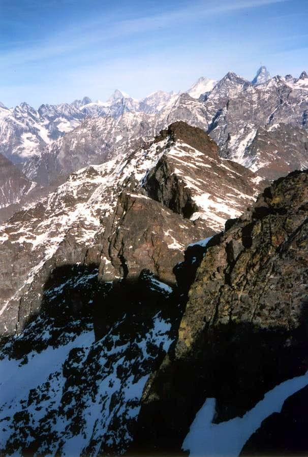 Winter to Point Henry, Becca Conge & Matterhorn 1985