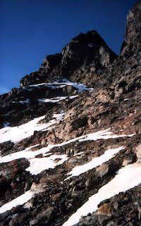 Tsaat ... in Winter to East Edge of West Summit 1985