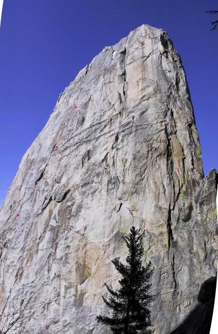West Face of Castle Rock...