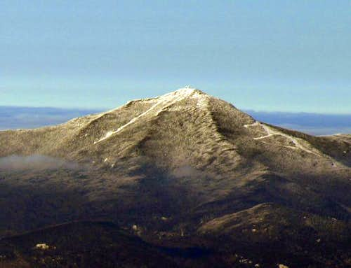 Whiteface as seen from summit...