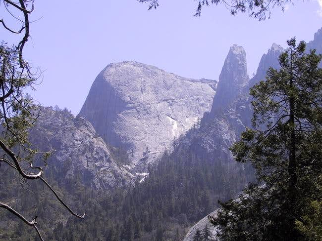 Castle Rock Spire and the Fin...