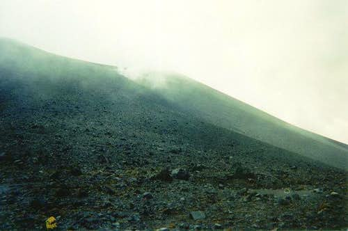 Approaching Volcan de la Olleta