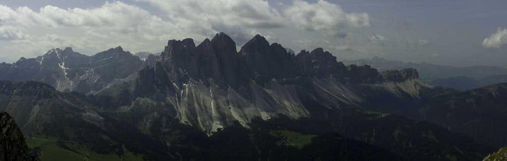 Puez Geisler Panorama