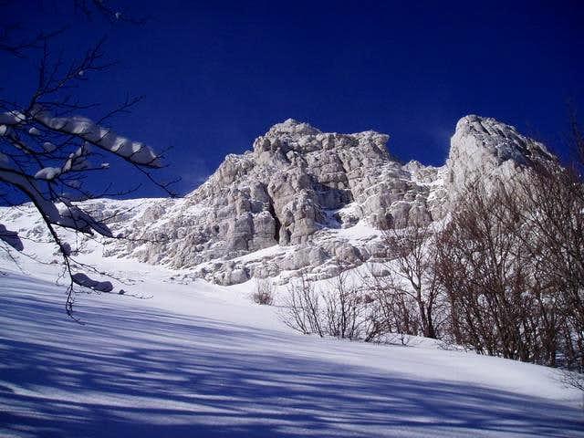 ridge near m. troglav
