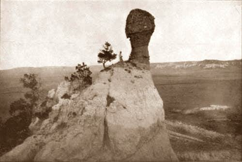 Smokestack Rock 100 years ago