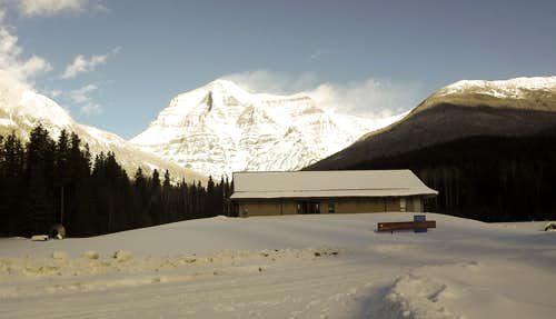 Mount Robson Winter