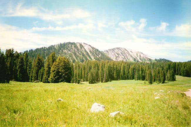 Moffit Peak via Beaver Lake