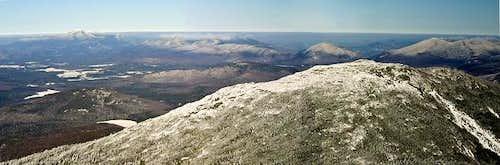 Wright from Algonquin Peak....