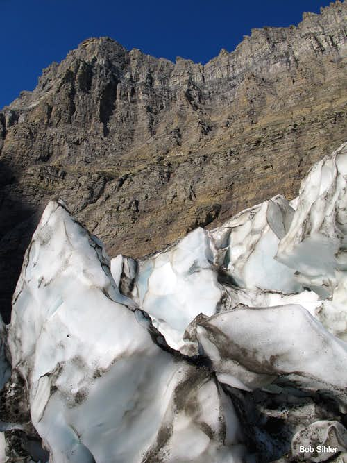 Inside the Siyeh Glacier