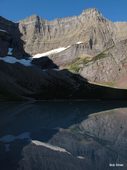 Siyeh Glacier and Cracker Lake