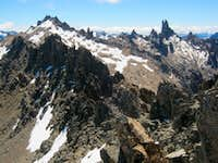 Catedral Massif from Pico D'Agostino