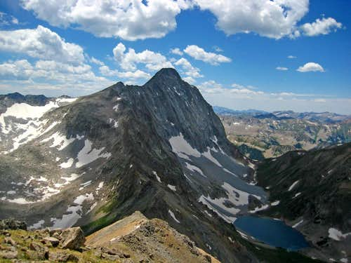 Capitol Peak\'s Northeast Face