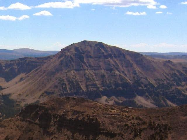 Spread Eagle Peak viewed from...