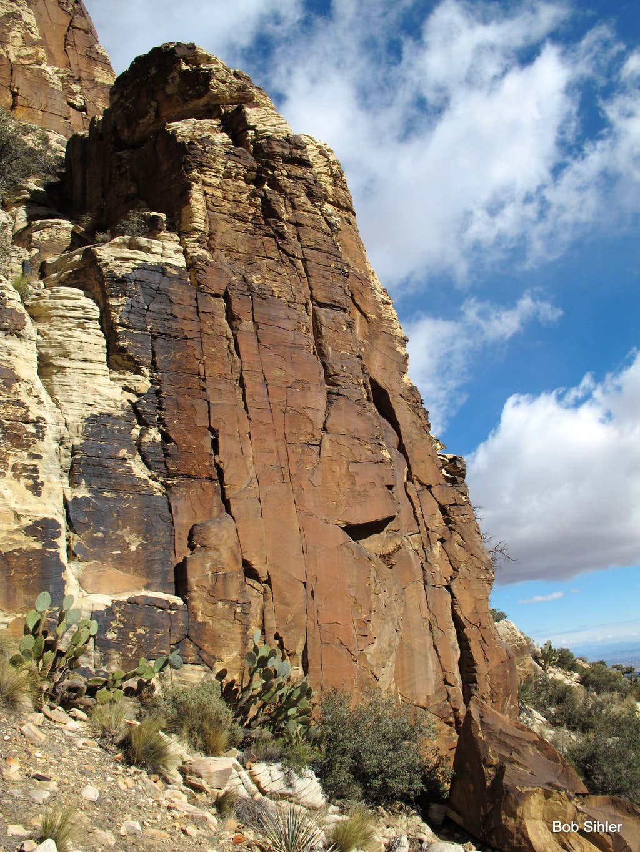 Cliffs on Hollow Rock Peak