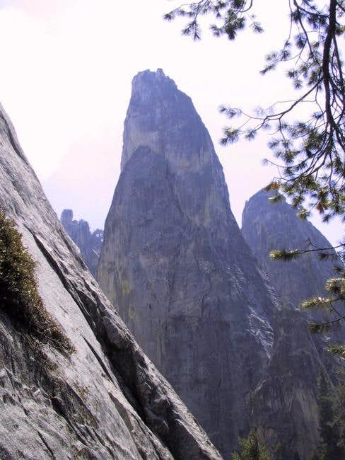 East Face of Castle Rock...