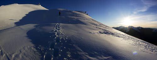 Hidden Lake Peaks West Ridge