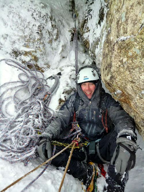 Winter belay BCC