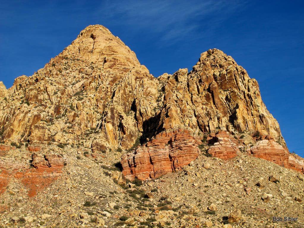 East Monument Peak and East Peak