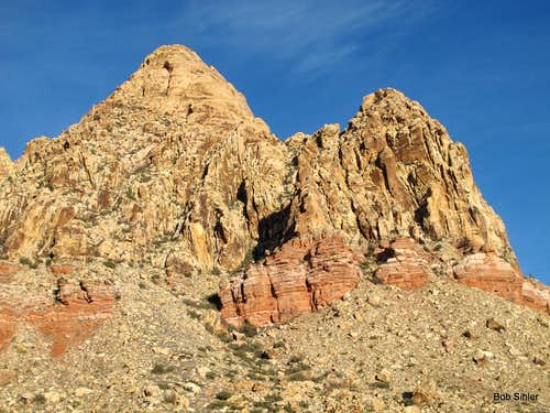 The Monument and East Monument Peak