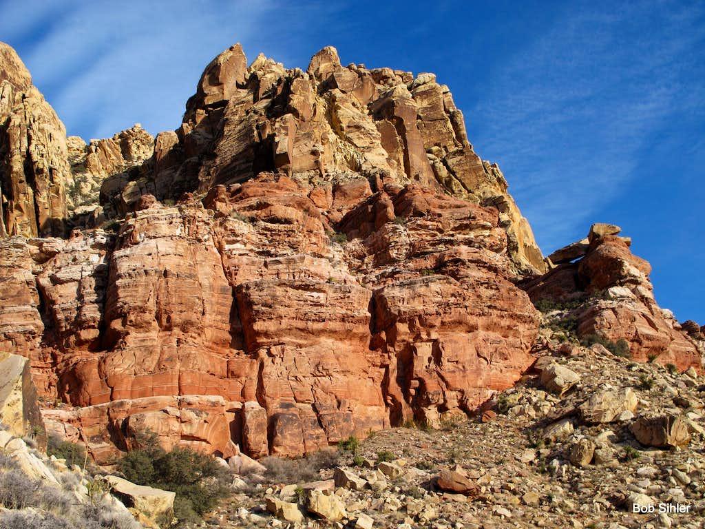 Cliffs on East Peak
