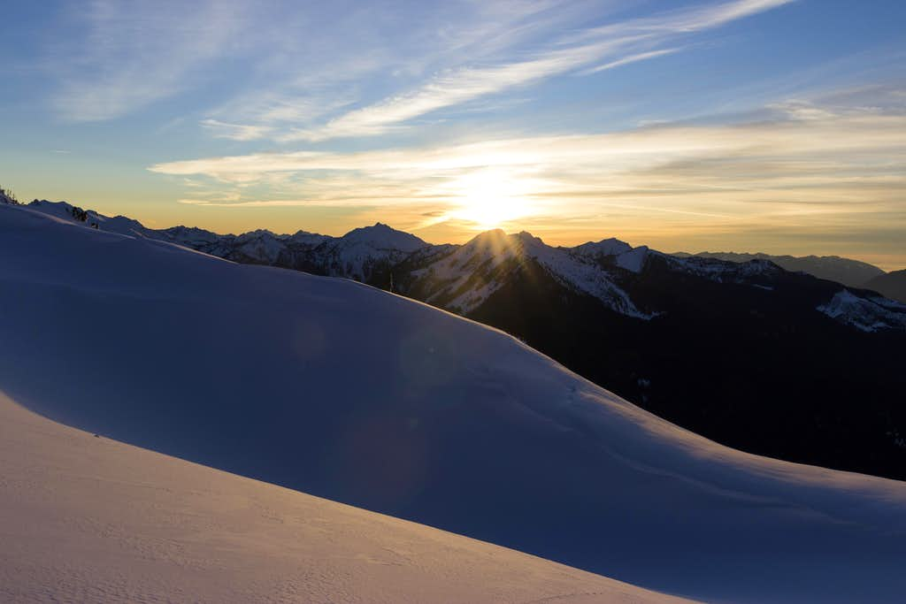 Sunset over Snowking