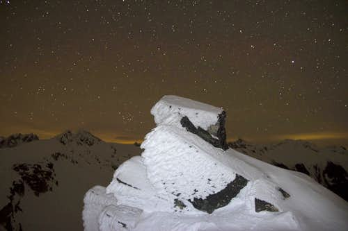 Stars on South Peak