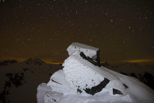 Stars on South Peak