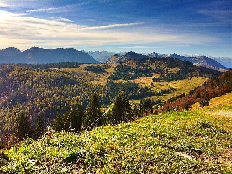 Autumn view from the Pillstein