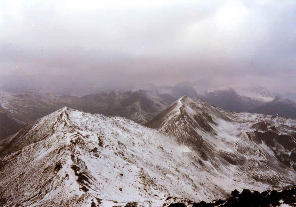 Mont Vertosan in an Old Summer