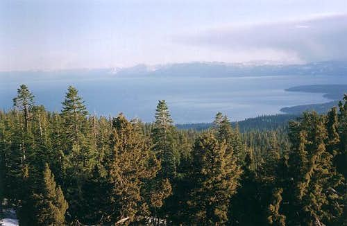 View of Lake Tahoe from...