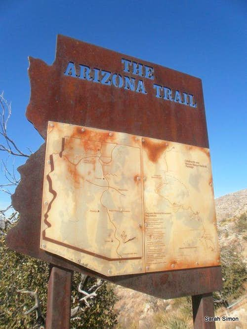 Arizona Trail sign