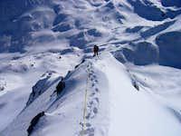Climbing Muratov's east ridge