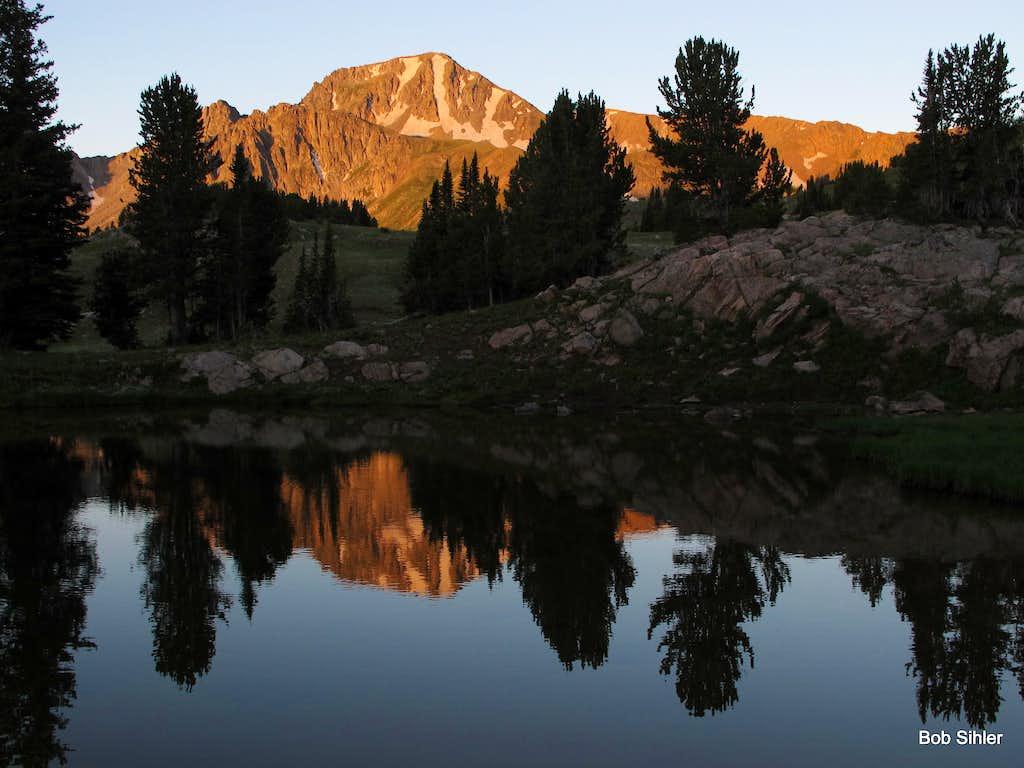 Echo Peak at Dawn