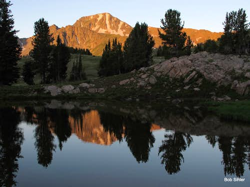 Echo Peak at Dawn