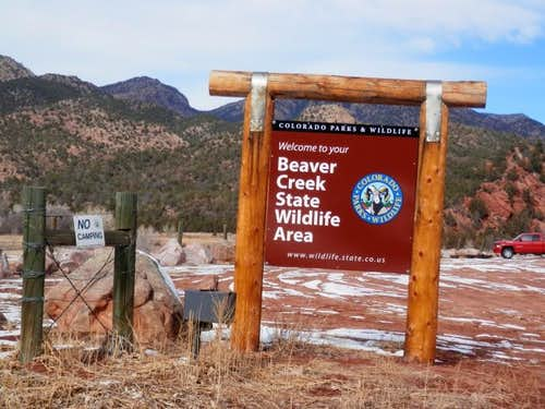 Beaver Creek Loop Trailhead