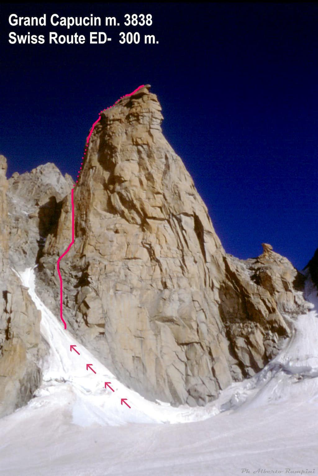 Swiss Route topo