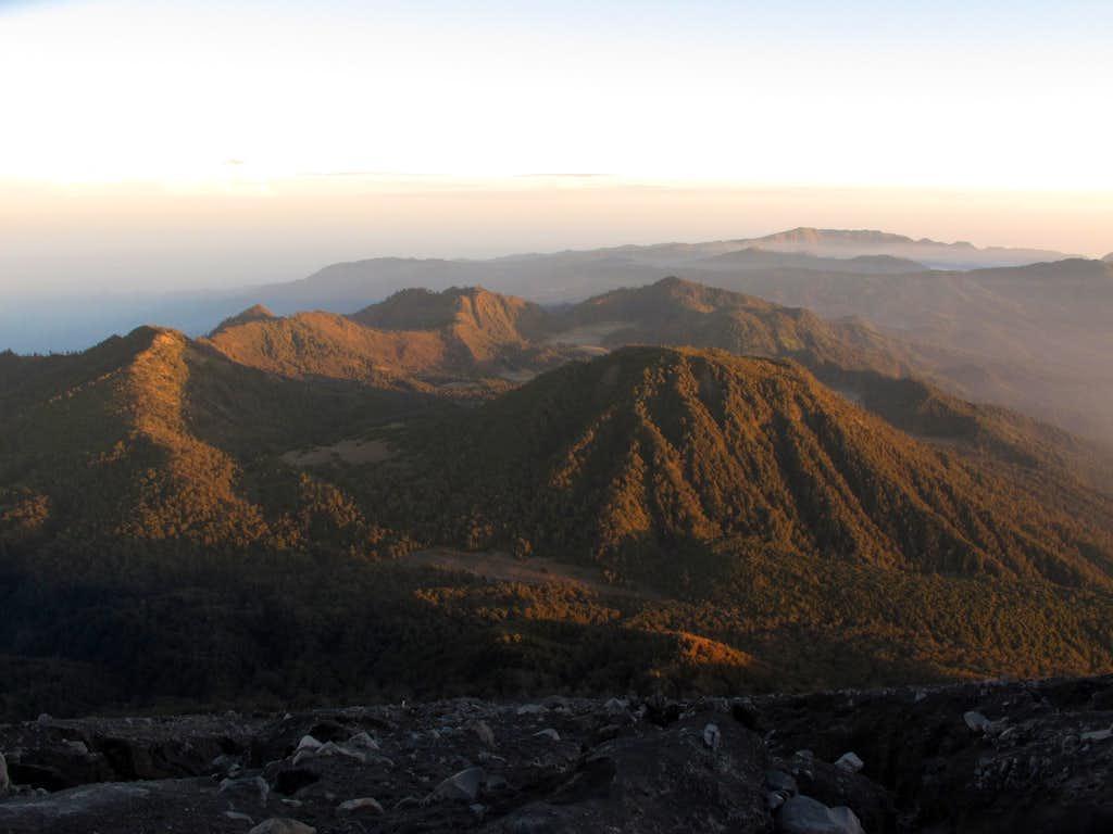 Sunrise from Semeru