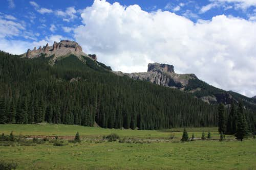 West Fork of the Cimarron Basin