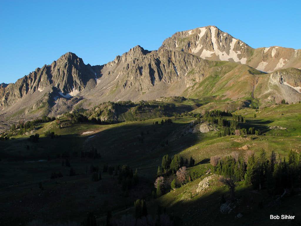 Echo Peak and East Ridge