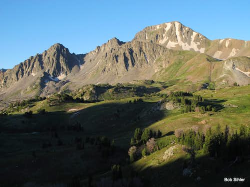 Echo Peak and East Ridge