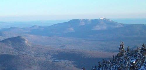 Snow on Chocorua in December...
