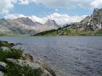 Bailey Peak (left) and Nylon...