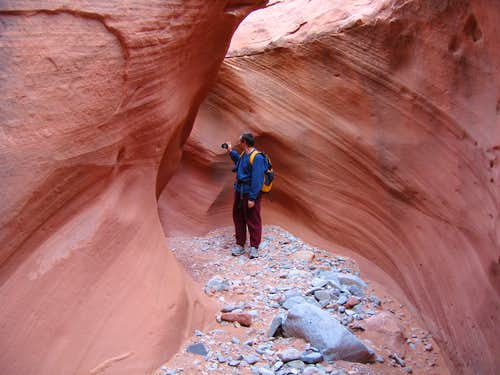 Walking through the narrows