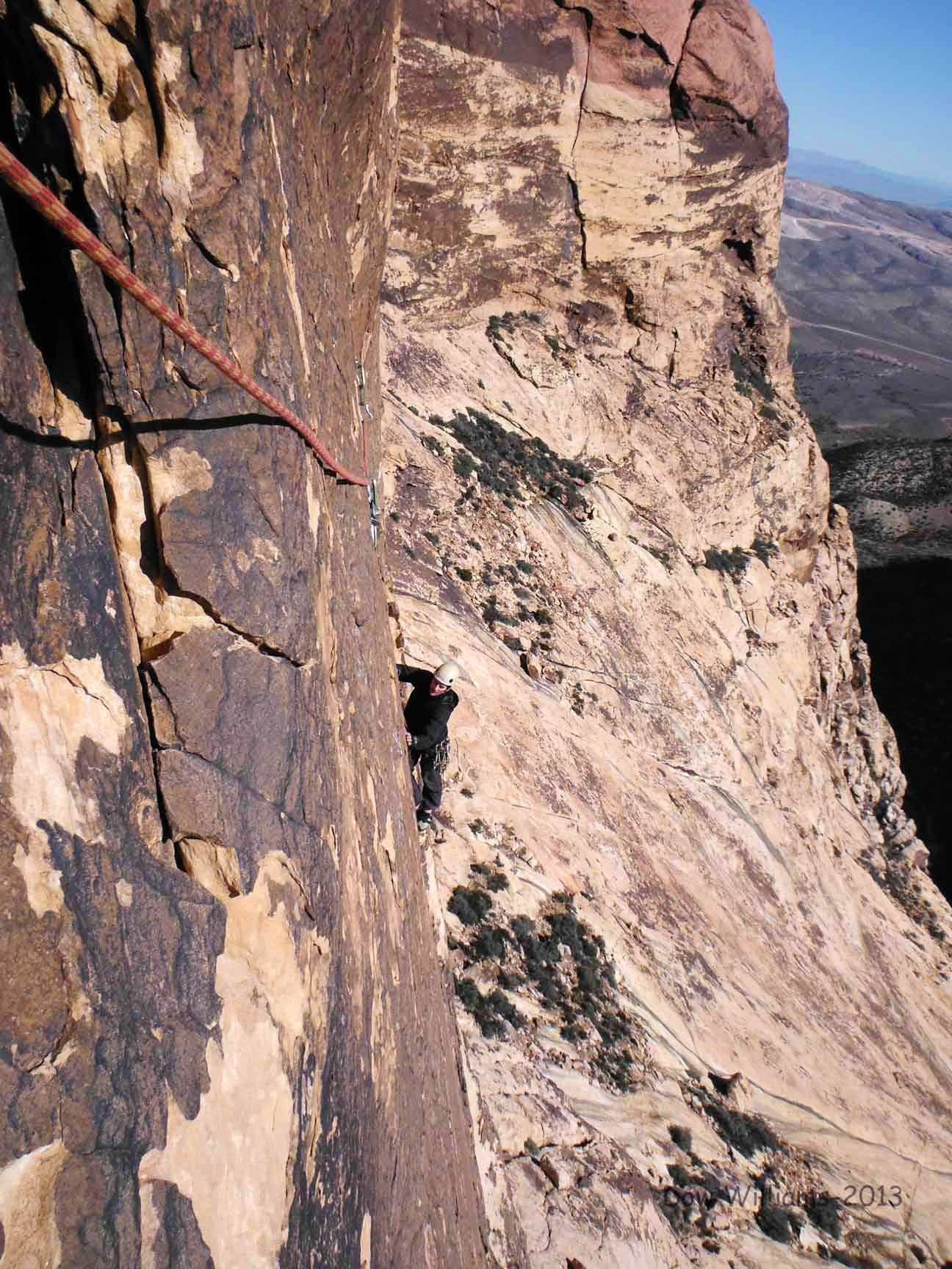 Ringtail, 5.10d, 5 Pitches