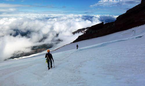 Coleman Glacier Bergschrund