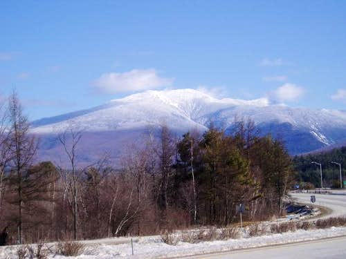 Mt. Lafayette from I-93. Mar...