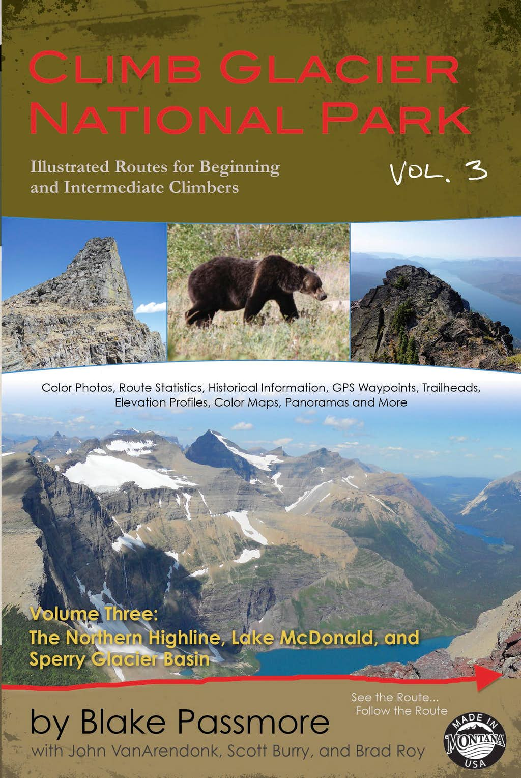 Climb Glacier National Park, Volume Three